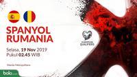 Kualifikasi Piala Eropa 2020 - Spanyol Vs Rumania (Bola.com/Adreanus Titus)