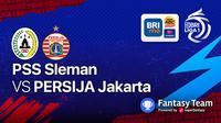 Big Match Persija Jakarta vs PSS Sleman 5 September 2021