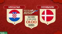 Piala Dunia 2018 Kroasia Vs Denmark (Bola.com/Adreanus Titus)