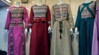 Toko baju di Pasar Tanah Abang (Foto: Achmad/Liputan6.com)