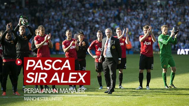 Berita video animasi parodi kreasi dari Footbal Dor (FDOR) tentang perjalanan para manajer Manchester United setelah era Sir Alex Ferguson.
