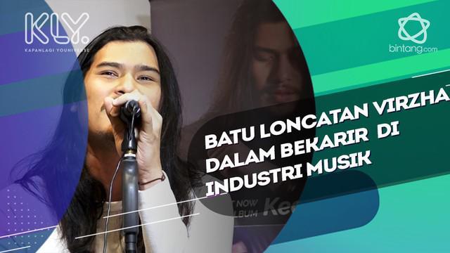 Batu Loncatan Virzha dalam Bekarir  di Industri Musik.