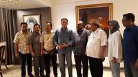 Bamsoet Menerima Dukungan Dari DPD Golkar Tingkat II di Widya Chandra, Jakarta Selatan, Sabtu (6/7/2019). (fachrur Rozie/Liputan6.com)