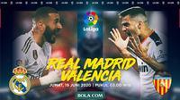 La Liga - Real Madrid Vs Valencia (Bola.com/Adreanus Titus)