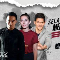 Iko Uwais. (Desain: Nurman Hakin/Bintang.com)