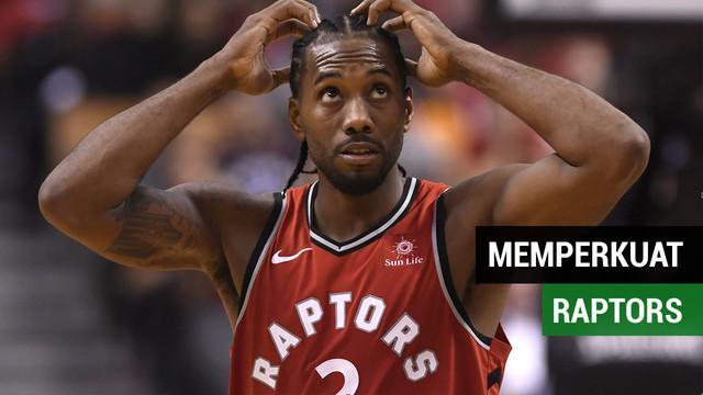 Kawhi Leonard untuk pertama kallinya memperkuat Toronto Raptors di ajang NBA, Rabu (18/10/2018) atau Kamis (18/10/2018) pagi WIB.