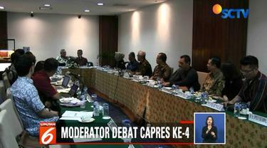 Komisioner KPU Wahyu Setiawan memastikan format debat keempat mengacu pada debat ketiga.
