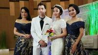 Momen Pernikahan Stefan dan Natasha Wilona di Anak Band, Bikin Baper. (Sumber: Instagram/natashawilona15/tagged)