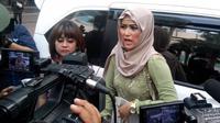 Istri Kiwil, Meggy Wulandari saat ditemui di kawasan Mampang, Jakarta Selatan. [Foto: Sapto Purnomo/Liputan6.com]