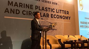 Peter Lan, Wakil Kepala Taipei Economic and Trade Office (TETO) di Indonesia (Aqilah Ananda P/Liputan6.com).