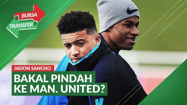 Berita Video Marcus Rashford Berikan Kode Pindahnya Jadon Sancho ke Manchester United