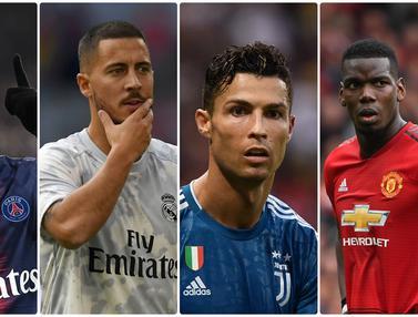 Pemain yang Dibeli dengan Harga 100 Juta Euro Lebih