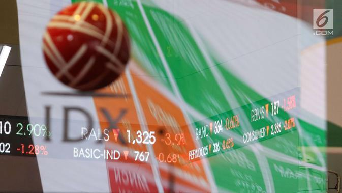 Layar pergerakan Indeks Harga Saham Gabungan (IHSG) di BEI, Jakarta, Rabu (16/5). Sejak pagi IHSG terjebak di zona merah. (Liputan6.com/Angga Yuniar)#source%3Dgooglier%2Ecom#https%3A%2F%2Fgooglier%2Ecom%2Fpage%2F%2F10000