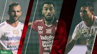 Trivia 3 Pemain Kunci Bali United (Bola.com/Adreanus Titus)