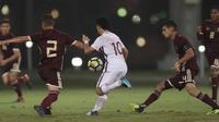 Qatar meraih kemenangan 4-1 atas Vietnam pada laga uji coba jelang Piala AFC U-19 2018 yang akan berlangsung di Jakarta. (dok. QFA)