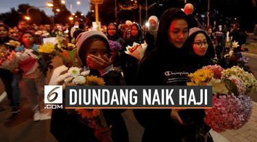 Keluarga Korban Tembak Selandia Baru Diundang Naik Haji