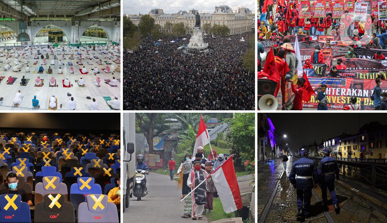 Berikut kumpulan berita foto berbagai peristiwa yang terjadi selama sepekan ini.