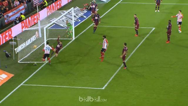 Athletic Bilbao bermain imbang 1-1 atar rival mereka Eibar di laga derby, dan tampil tanpa diperkuat bek andalan mereka Aymeric La...