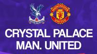 Liga Inggris: Crystal Palace Vs Manchester United. (Bola.com/Dody Iryawan)