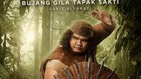 Bujang Gila Tapak Sakti (Fariz Alfarazi) di film Wiro Sableng