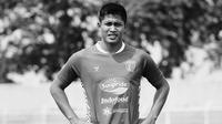 Mantan kiper Persija Jakarta Daryono tutup usia. Daryono terakhir bermain untuk Badak Lampung FC. (foto: Instagram @badaklampungfc)