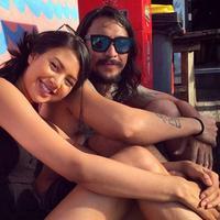 Aurelie Moeremans dan Marcello Tahitoe (Instagram/@aureliealida)