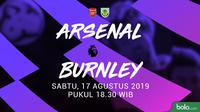 Premier League - Arsenal Vs Burnley (Bola.com/Adreanus Titus)