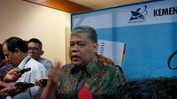 Dirjen Kelembagaan IPTEK dan DIKTI Patdono Suwignjo. (Liputan6.com/Nafiysul Qadar)