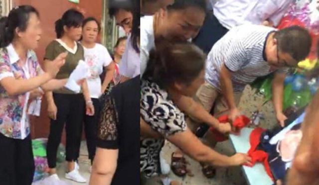Keluarga wanita histeris dengan kematiannya/copyright shanghaiist.com