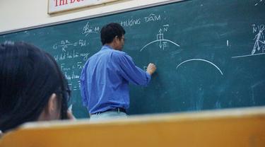 Ilustrasi Guru, Mengajar