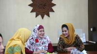 Puti Guntur menyampaikan salah satu program andalannya yakni pemberdayaan perempuan dan perlindungan kepada Pimpinan Wilayah Aisyiyah Jatim.