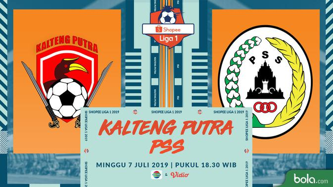 Eksklusif Live Streaming Shopee Liga 1 di Indosiar: Kalteng Putra Vs PSS 3