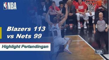 Jusuf Nurkic mencetak 27 poin dan meraih 12 rebound saat Portland mengalahkan Brooklyn.