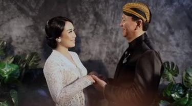 FOTO: Sepuluh Bulan Menikah, Ahok dan Puput Nastiti Pamerkan Foto Pernikahan