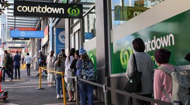 FOTO: Kasus COVID-19 Meningkat, Selandia Baru Kembali Lockdown Kota Auckland