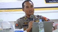 AKBP Syamsu Ridwan, Kabid Humas Polda Sulbar (Abdul Rajab Umar)
