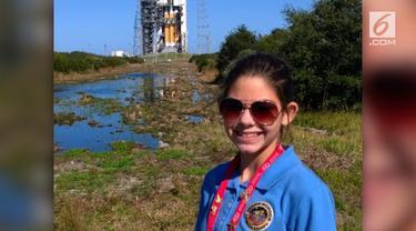 Walau masih berusia 17 tahun, Alyssa Carson sudah dipercaya NASA untuk menjadi penghuni Mars yang pertama.