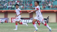 Aidil Bogel dicarikan tandem striker tangguh untuk mempertajam serangan Martapura FC di babak 16 besar ISC B. (Bola.com/Robby Firly)