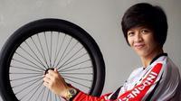 Pebalap BMX Putri Indonesia, Elga Kharisma Novanda. (elgakharisma.blogspot.co.id/)