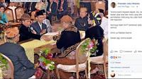 Jokowi Berterimakasih Pada Tamu Undangan karena Doakan Kahiyang