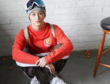 FOTO: Gaya Keren Mark Lee, Rapper NCT127 yang Hari Ini Genap 20 Tahun