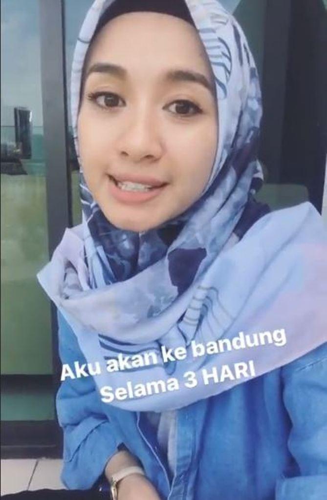 Laudya Cynthia Bella akan tinggalkan Malaysia? (Foto: Instagram)