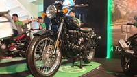 Benelli Imperiale mengusung mesin 400cc. (Septian / Liputan6.com)