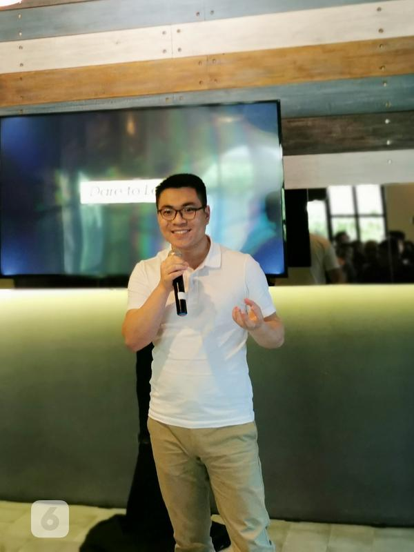 Marketing Director untuk Realme Indonesia, Palson Yi. Liputan6.com/Mochamad Wahyu Hidayat