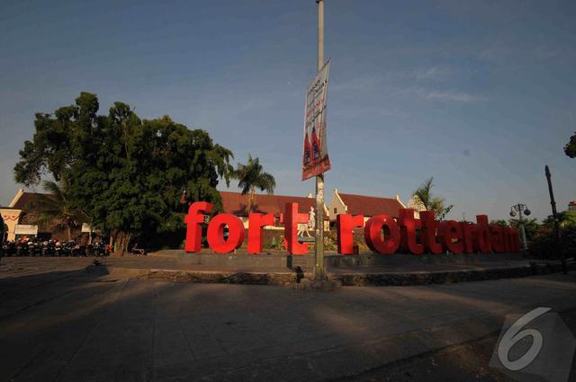 Fort Rotterdam atau Benteng Ujung Pandang adalah sebuah benteng peninggalan Kerajaan Gowa-Tallo. Foto diambil pada Jumat (9/5/2014) (Liputan6.com/Herman Zakharia)
