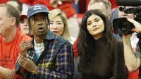 Kendati demikian tetap ada yang dikhawatirkan dan ditakuti oleh Kylie Jenner jika ia menikah dengan Travis Scott. (RONALD MARTINEZ  GETTY IMAGES NORTH AMERICA  AFP)