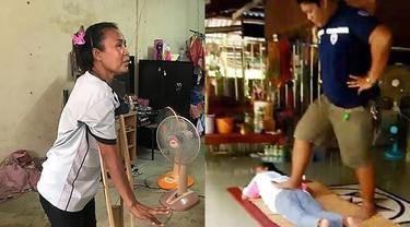 Diinjak oleh Tukang Pijat, Wanita Malang Ini Malah Alami Kelumpuhan