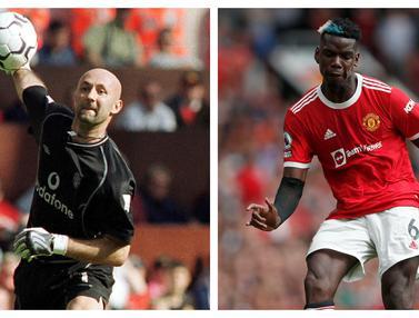 Foto: Deretan Pemain Termahal Prancis yang Pernah Didatangkan Manchester United, mulai Fabien Barthez hingga Paul Pogba