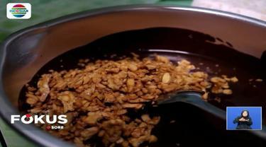 Seorang warga Kabupaten Boyolali, Jawa Tengah, ciptakan  cokelat tempe. Bagaimana ya rasanya?
