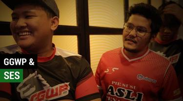Berita video melihat keakraban tim GGWP dengan SES pada launching The Battle of Youniverse (T-Boy).